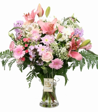 Boeket Passivol roze