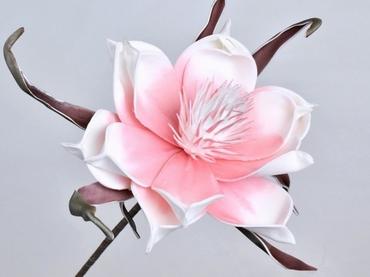 Foam flower pink Ø 20 cm