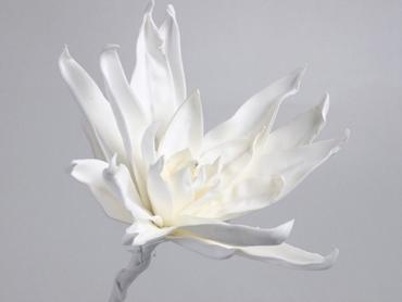 Foam flower white Ø 35 cm
