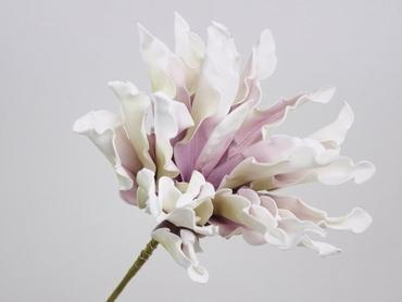 Foam flower Dracena white lilac Ø 24 cm