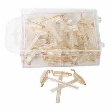 Pinces à corsage 5 cm 50 par boîte