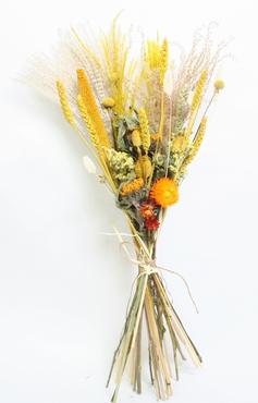 Bouquet Champ séché Jaune