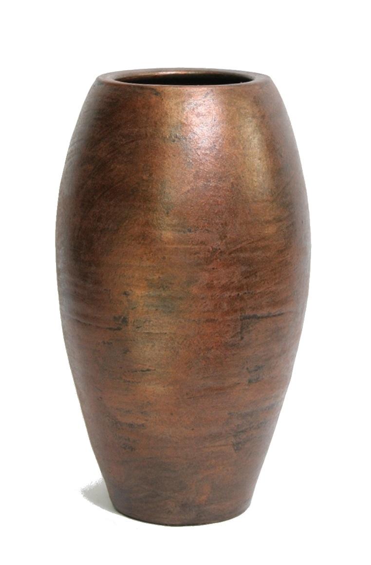 5 Katoentakken met 8 bollen per tak in een vaas Palma