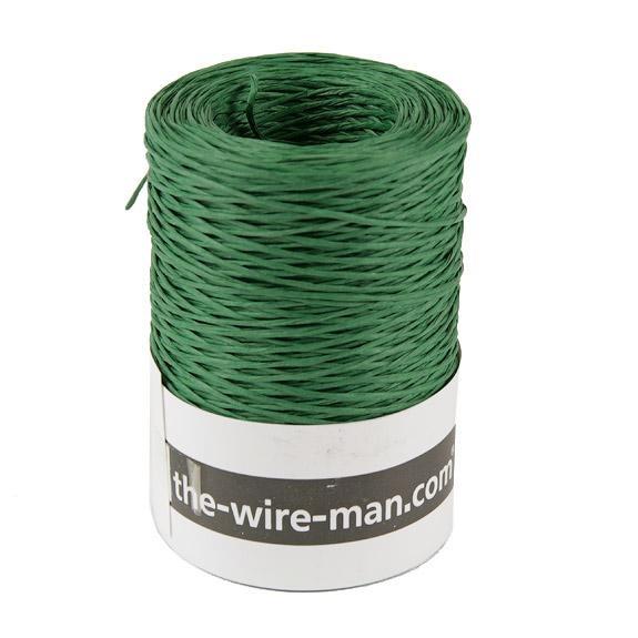 fil de reliure papier vert 205 mètres