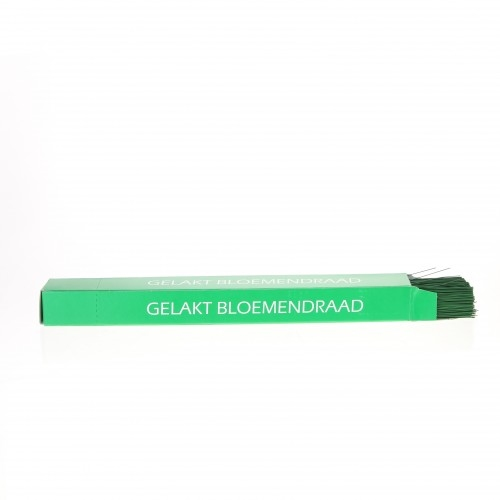 Wire painted green 0,9 mm
