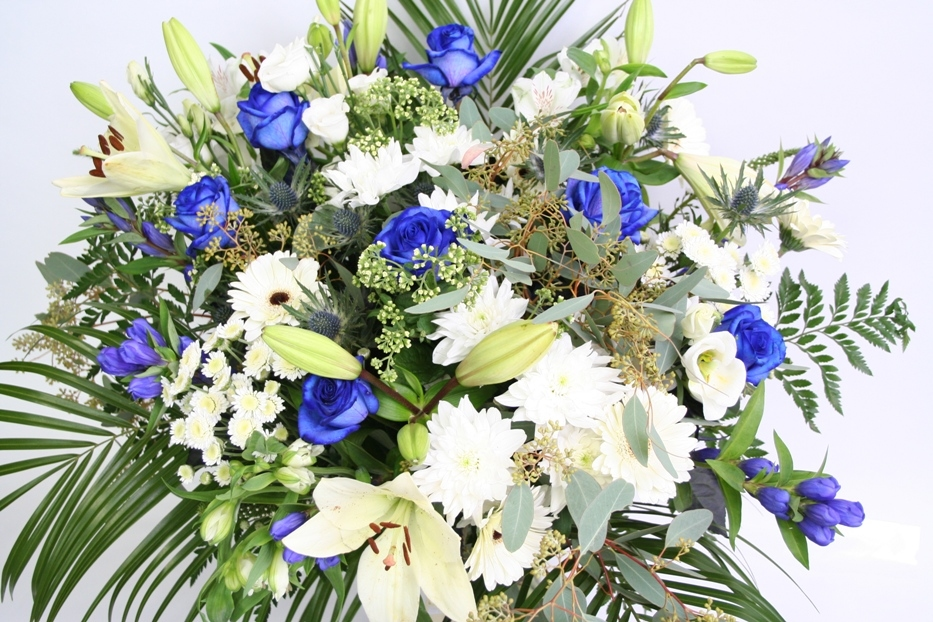Boeket Azur blauw
