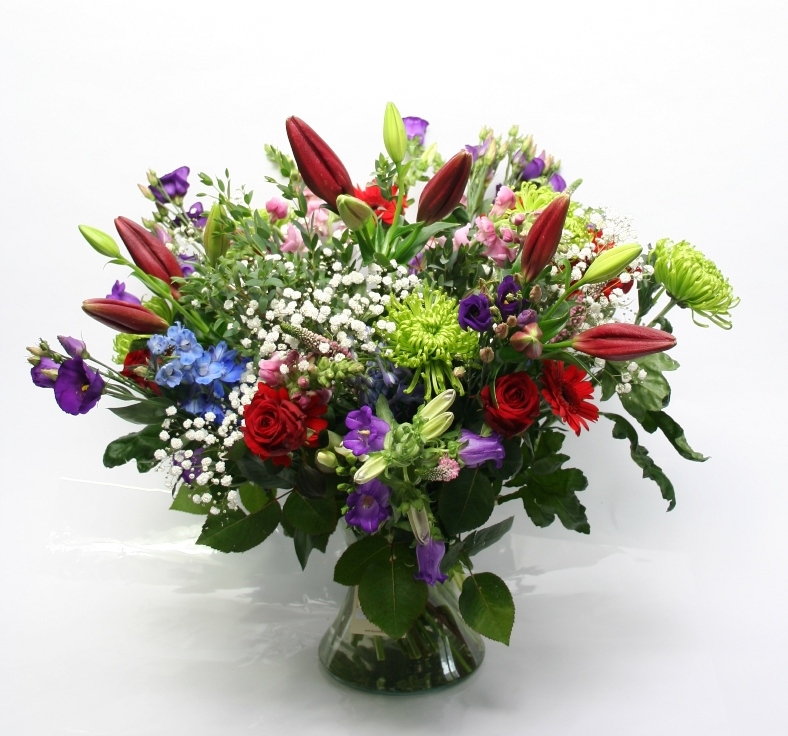 Bouquet Bloemen Passion