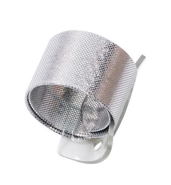 Poignet de corsage silver cliquable (oasis wrap wristlet)