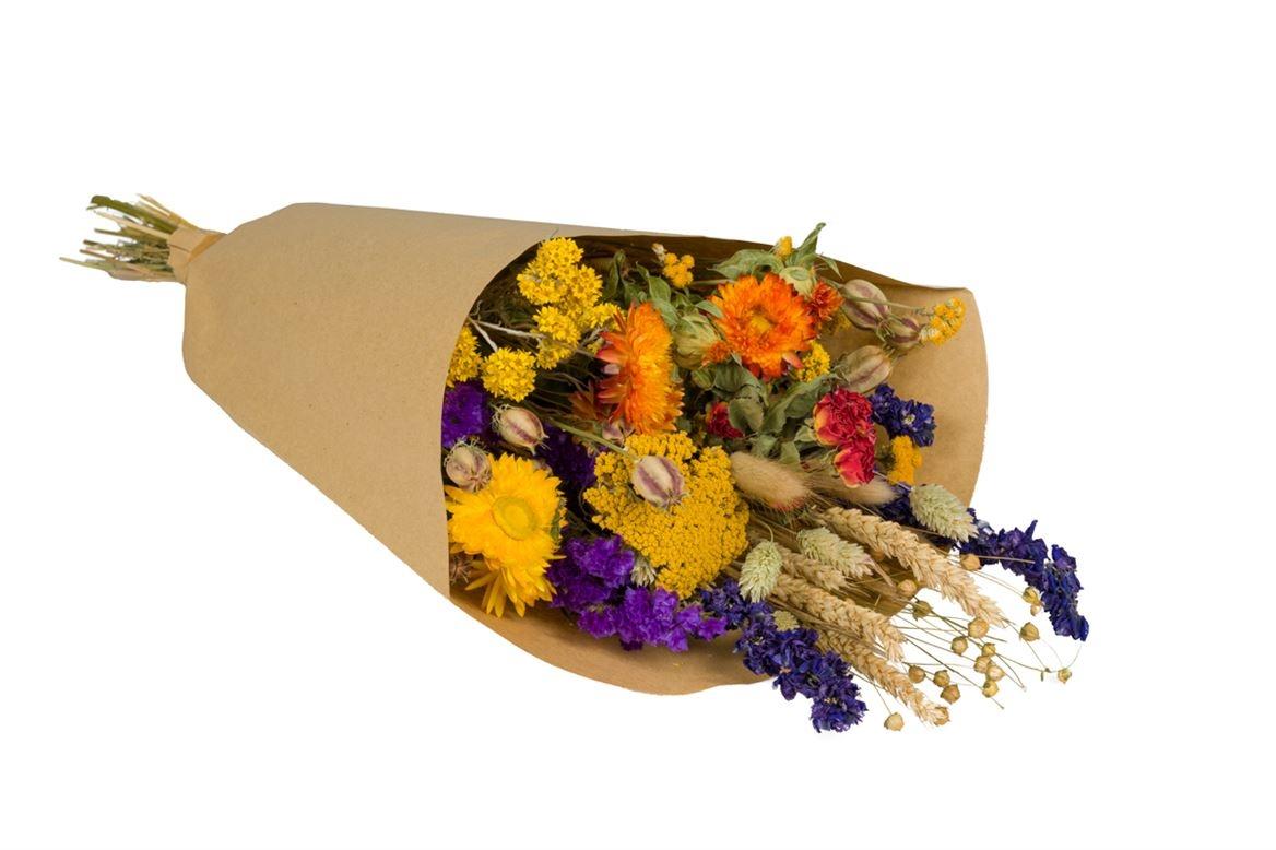Bouquet séché  Field L orange